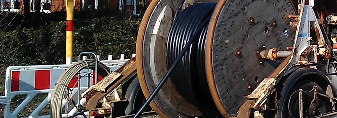 Kabelverlegung Tiefbau